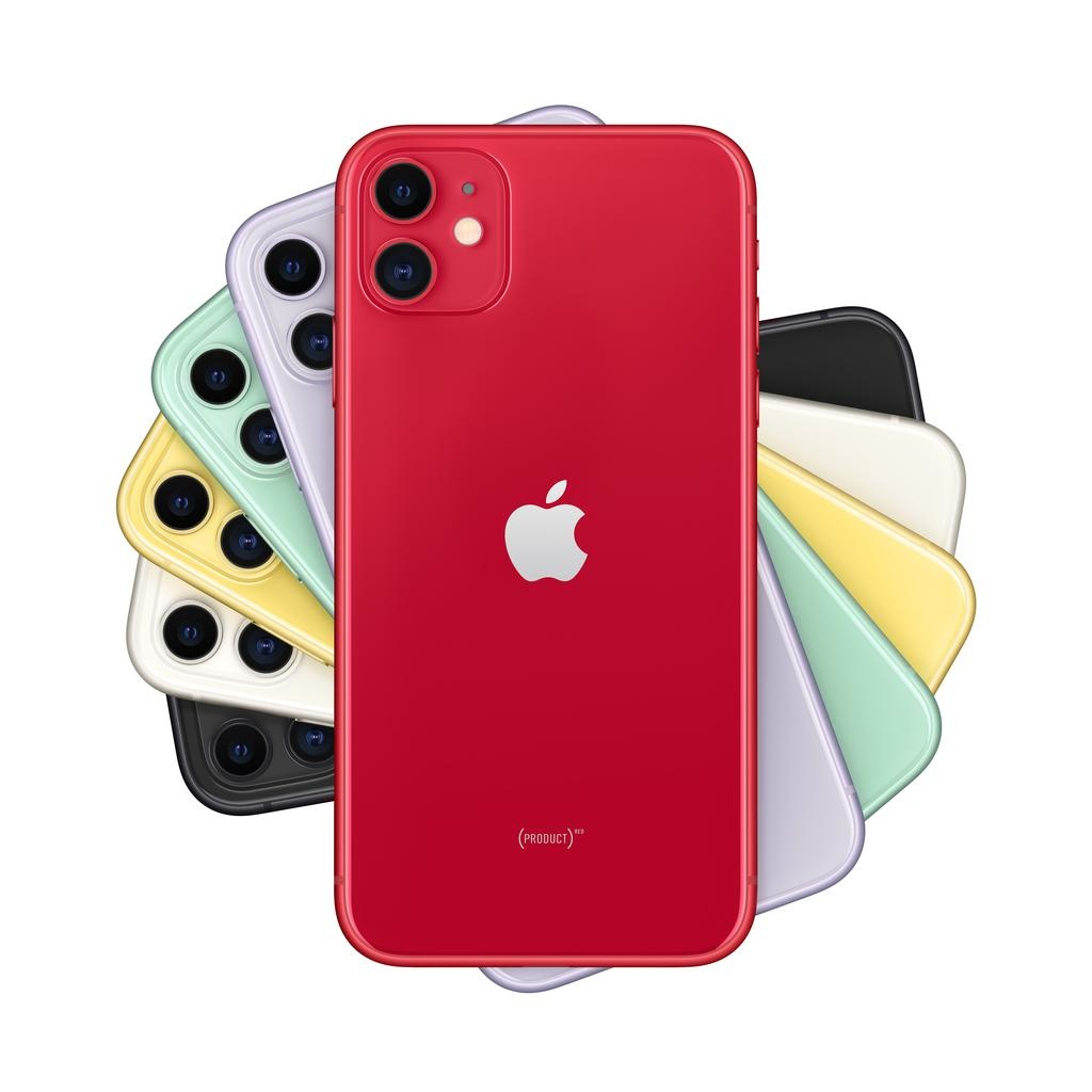 Apple iPhone 11 256GB (PRODUCT)RED (includes EarPods and charger)