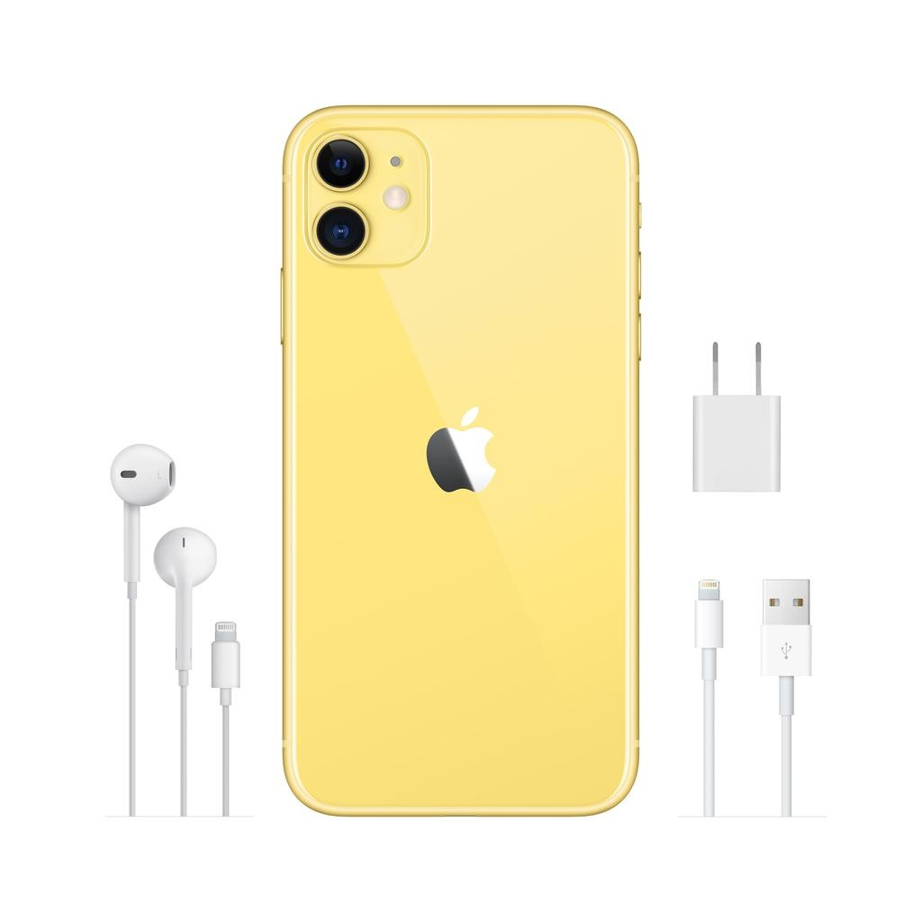 Apple iPhone 11 64GB Yellow (includes EarPods and charger)