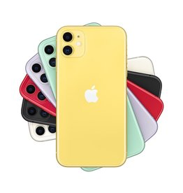 Apple iPhone 11 128GB Yellow (includes EarPods and charger)