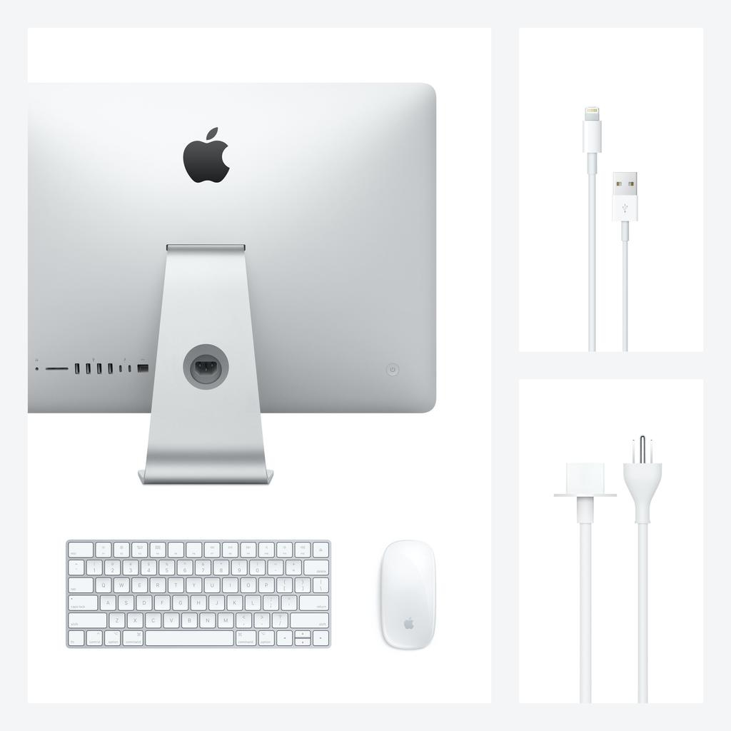 Apple 21.5-inch iMac with Retina 4K display: 3.0GHz 6-core 8th-generation Intel Core i5 processor, 256GB