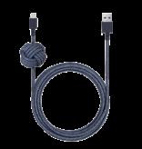 Native Union Native Union 3M USB to Lightning Knot Night Cable - Indigo