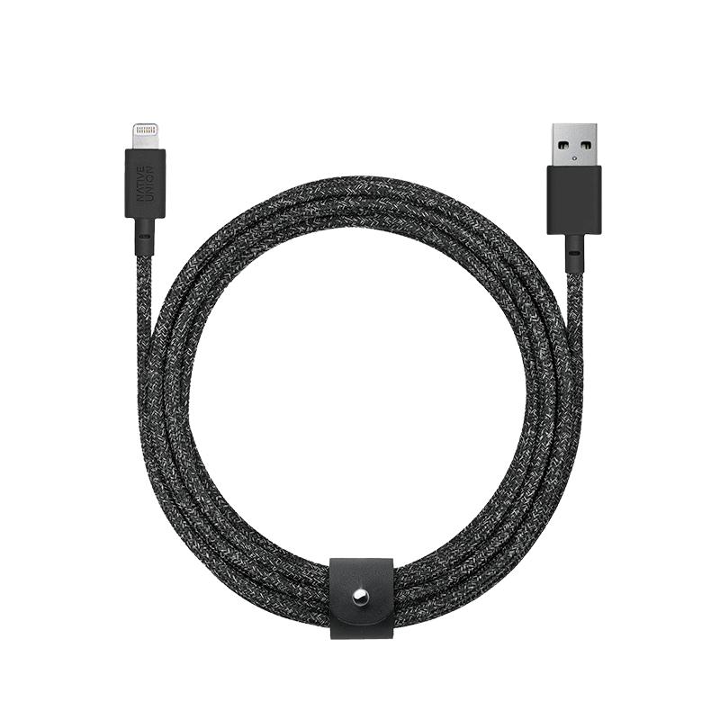 Native Union Native Union 3M Belt Lightning Cable - Cosmos Black
