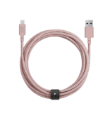 Native Union Native Union 3M Belt Lightning Cable - Rose Pink