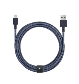 Native Union Native Union 3M Belt Lightning Cable - Indigo