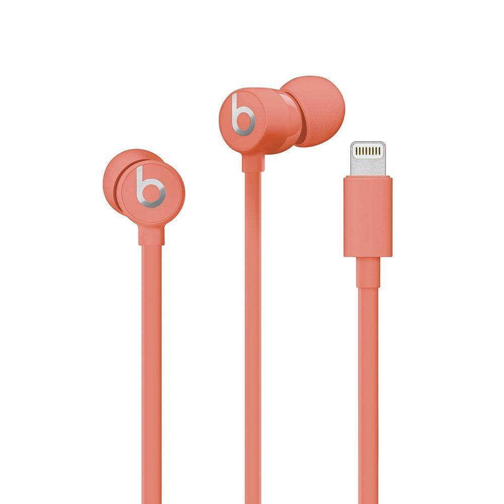 Beats urBeats3 Earphones with Lightning Connector - Coral