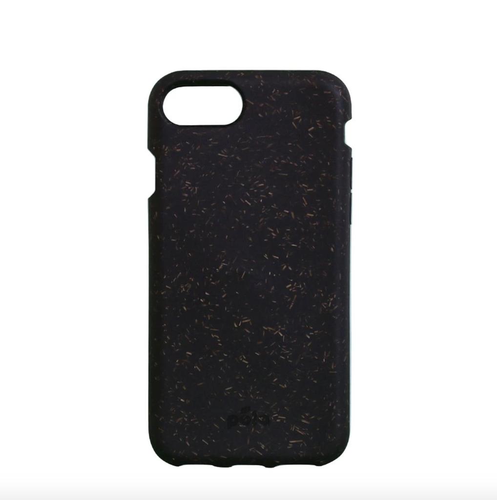 Pela Pela Compostable Eco-Friendly Protective Case for iPhone SE (2020)/8/7/6S/6 - Black