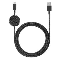 Native Union Native Union 3M USB to Lightning Knot Night Cable - Black