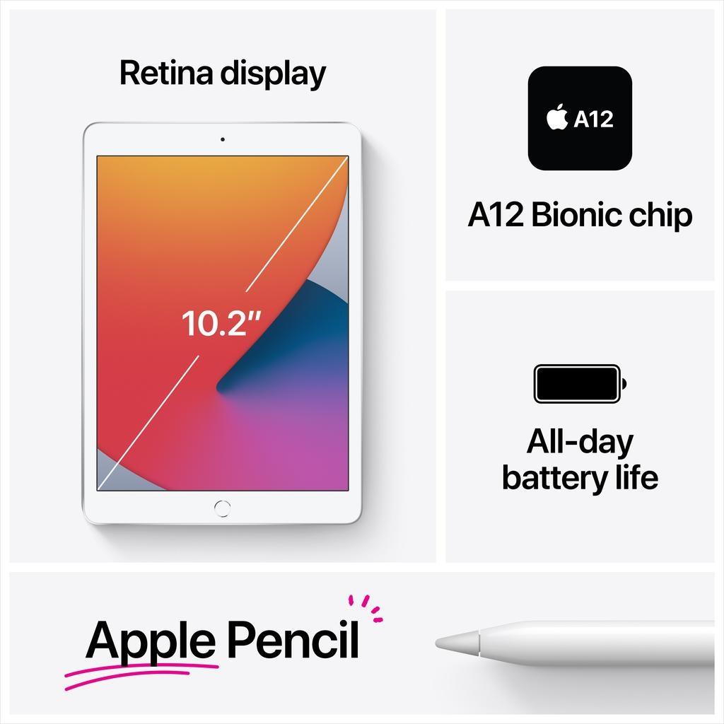 Apple NEW 10.2-inch iPad Wi-Fi + Cellular 32GB (8th Gen) - Space Grey