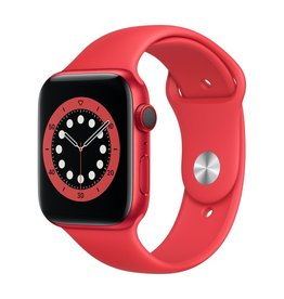 Apple Series 6 GPS + Cellular, 40mm PRODUCT(RED) Aluminium Case with PRODUCT(RED) Sport Band