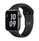 Apple Nike Series 6 GPS + Cellular, 44mm Space Grey Aluminium Case with Anthracite/Black Nike Sport Band