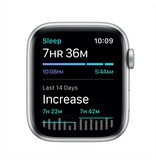 Apple SE GPS, 44mm Silver Aluminium Case with White Sport Band