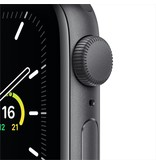 Apple SE GPS, 40mm Space Gray Aluminium Case with Black Sport Band