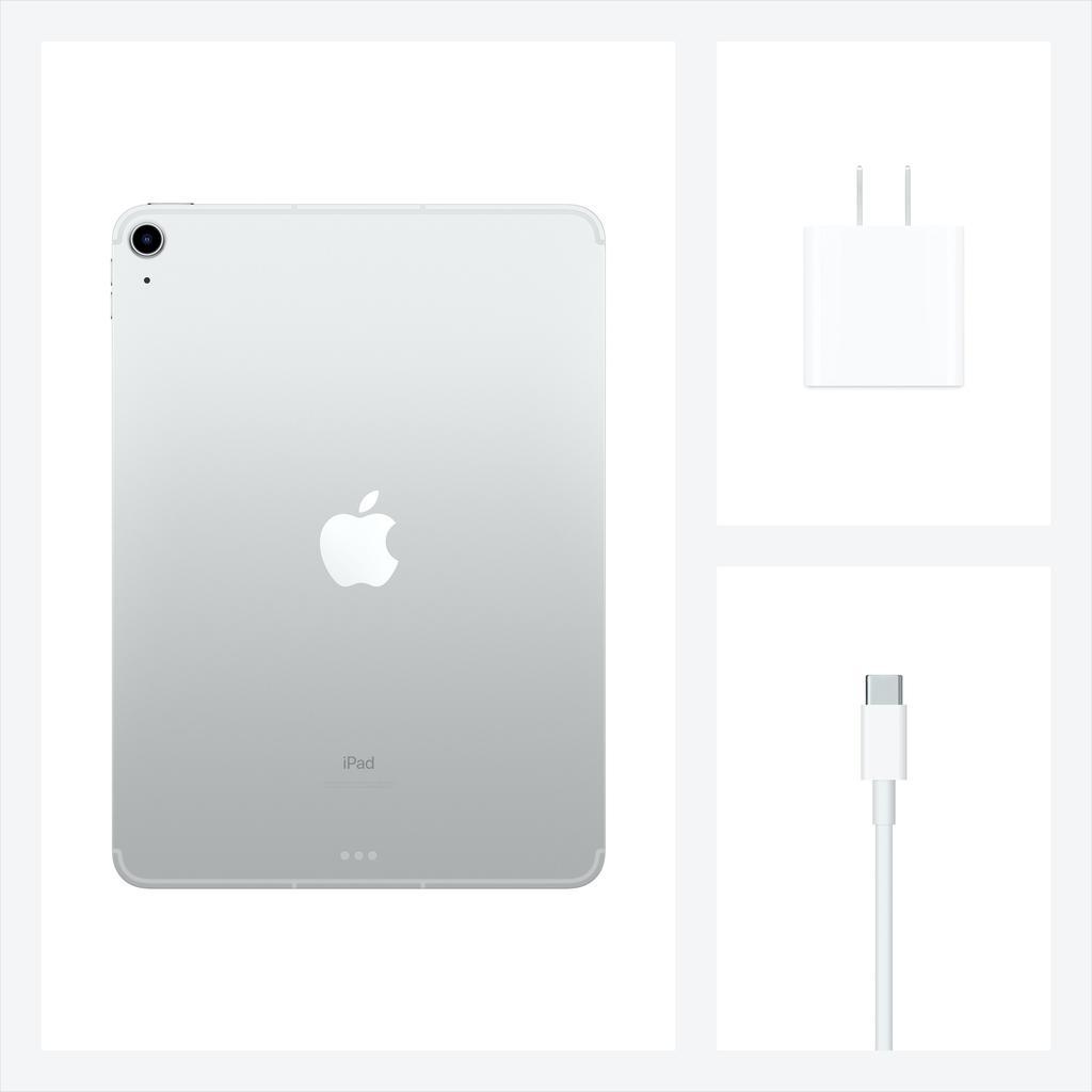Apple NEW 10.9-inch iPad Air Wi-Fi + Cellular 64GB (4th Gen) - Silver
