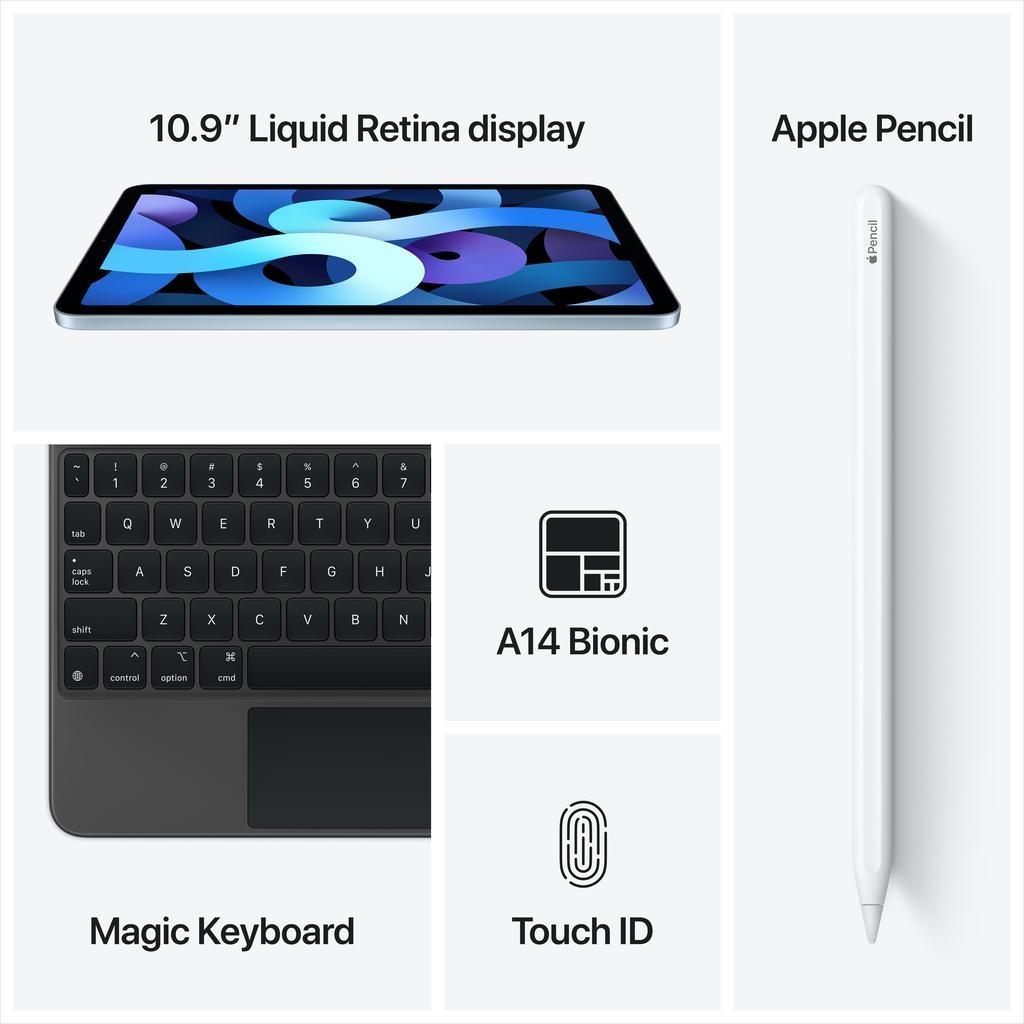 Apple NEW 10.9-inch iPad Air Wi-Fi + Cellular 64GB (4th Gen) - Green