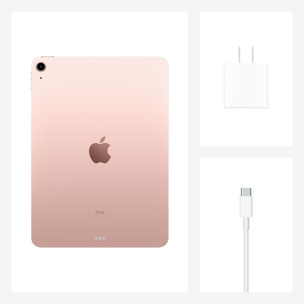 Apple NEW 10.9-inch iPad Air Wi-Fi 256GB (4th Gen) - Rose Gold