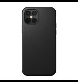 Nomad Nomad Rugged Leather Case for iPhone 12 / 12 Pro -  Black