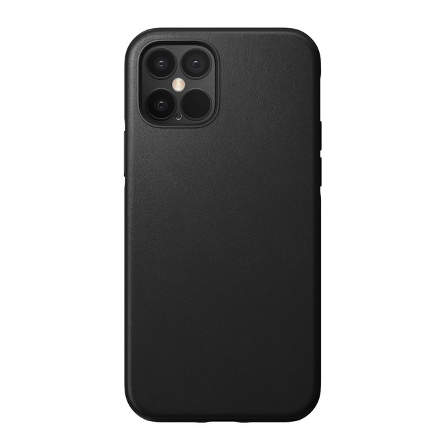 Nomad Nomad Rugged Leather Case for iPhone 12 / 12 Pro -  Black
