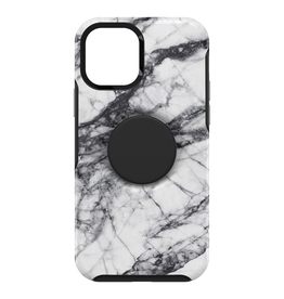 Otterbox Otterbox Otter + Pop Symmetry Case with PopTop for iPhone 12 / 12 Pro - White Marble