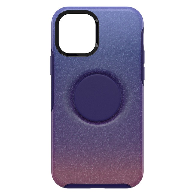 Otterbox Otterbox Otter + Pop Symmetry Case with PopTop PopUp for iPhone 12 / 12 Pro - Violet Dusk