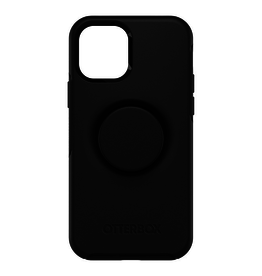 Otterbox Otterbox Otter + Pop Symmetry Case with Swappable PopTop for iPhone 12 / 12 Pro - Black
