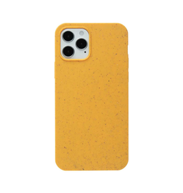 Pela Pela Compostable Eco-Friendly Protective Case for iPhone 12 / 12 Pro - Yellow Honey Bee