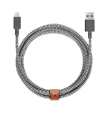 Native Union Native Union 3M USB-C to Lightning Cable - Zebra