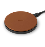 Native Union Native Union Drop Wireless 10W Qi Charger - Brown Leather