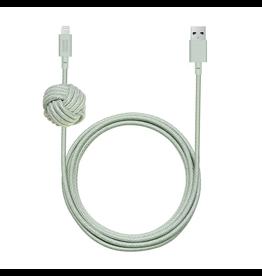 Native Union Native Union 3M USB-C to Lightning Knot Night Cable - Sage