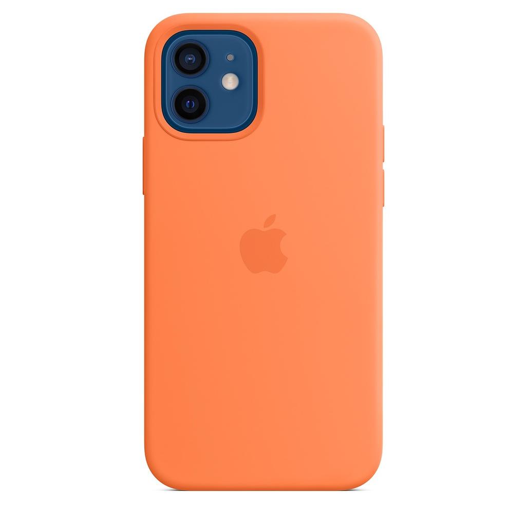 Apple Apple iPhone 12 | 12 Pro Silicone Case with MagSafe - Kumquat