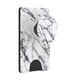 PopSockets PopSockets PopWallet+ - Dove White Marble