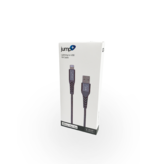 Jump Jump+ USB to Lightning Nylon Cable 1m - Grey