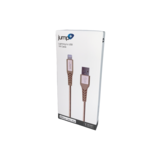 Jump Jump+ USB to Lightning Nylon Cable 1m - Gold