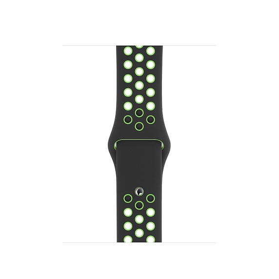 Apple Apple Watch 40mm Black/Lime Blast Nike Sport Band - Regular