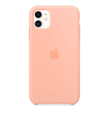 Apple Apple iPhone 11 Silicone Case - Grapefruit