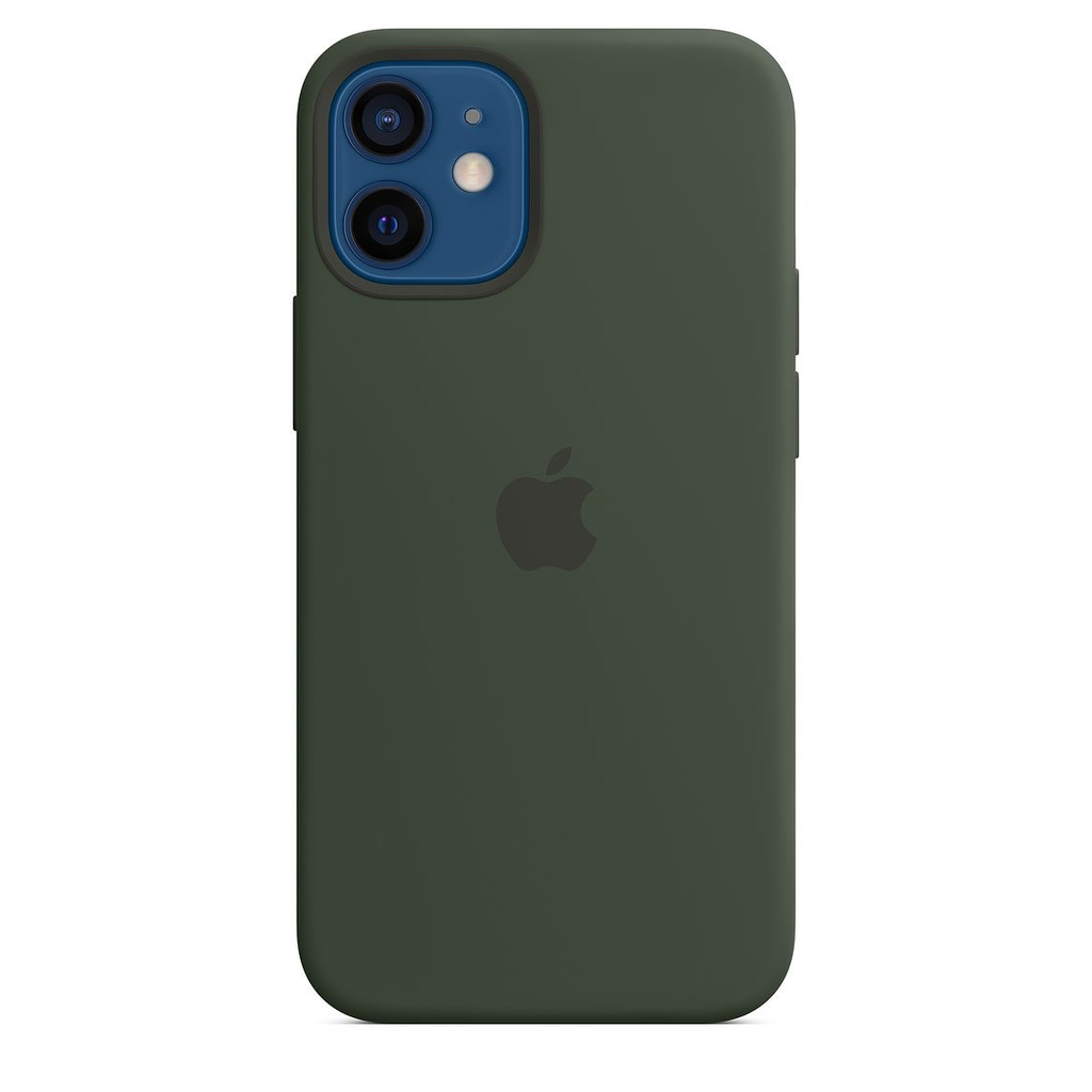 Apple Apple iPhone 12 mini Silicone Case with MagSafe - Cypress Green