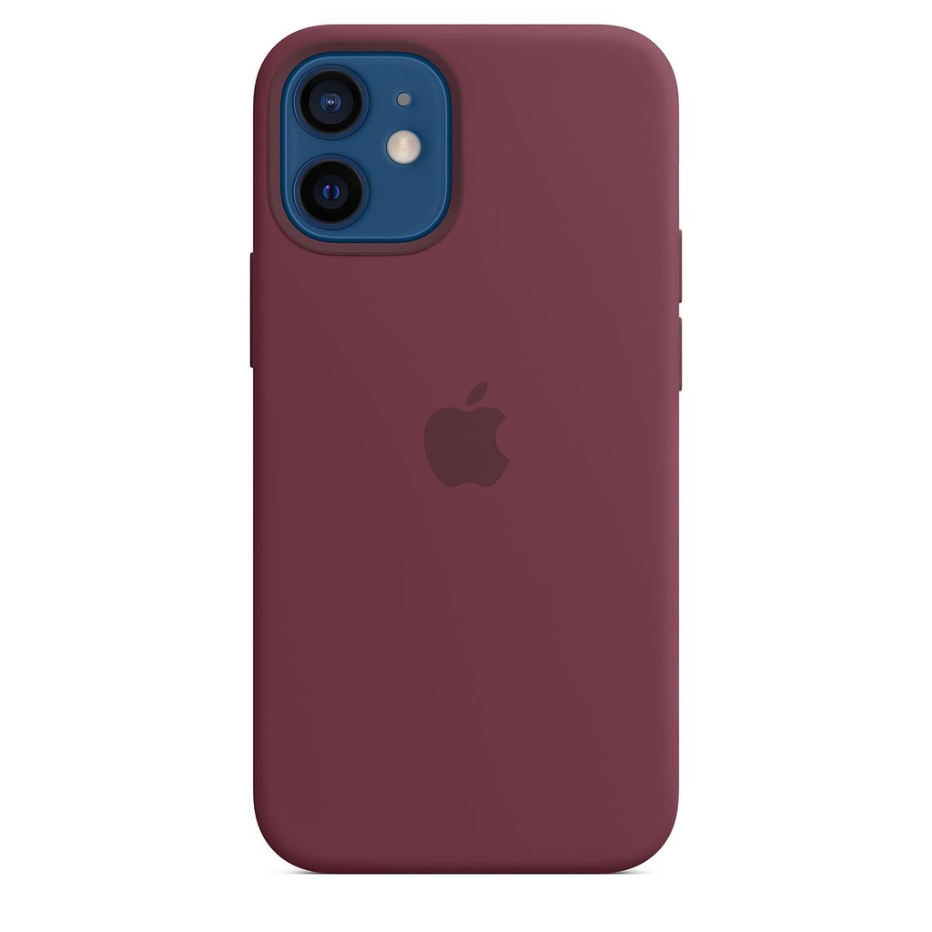 Apple Apple iPhone 12 mini Silicone Case with MagSafe - Plum