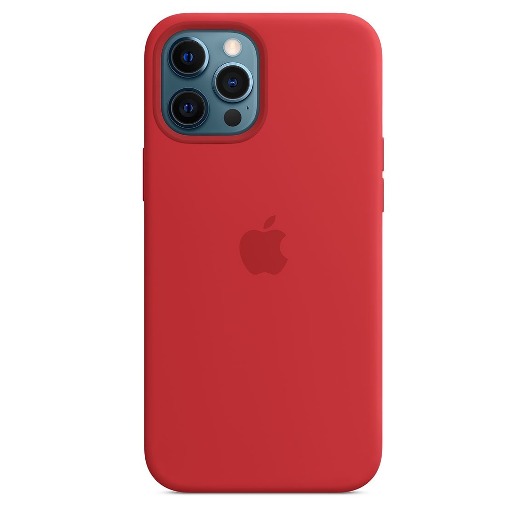 Apple Apple iPhone 12 Pro Max Silicone Case with MagSafe - (PRODUCT)RED