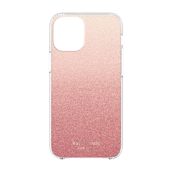 kate spade new york kate spade Protective Hardshell Case for iPhone 12 mini - Pink Ombre Sunset