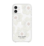 kate spade new york kate spade Protective Hardshell Case for iPhone 12 mini - Hollyhock Floral