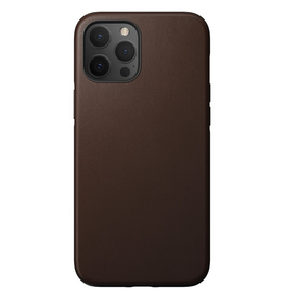 Nomad Nomad Rugged Leather Case for iPhone 12 Pro Max - Rustic Brown