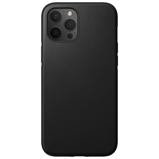 Nomad Nomad Rugged Leather Case for iPhone 12 Pro Max - Black