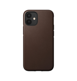 Nomad Nomad Rugged Leather Case for iPhone 12 mini - Rustic Brown