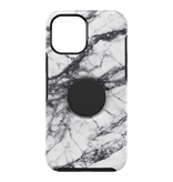 Otterbox Otterbox Otter + Pop Symmetry Case with PopTop for iPhone 12 Pro Max - White Marble