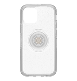 Otterbox Otterbox Otter + Pop Symmetry Clear Case with Swappable PopTop for iPhone 12 mini - Silver Flake/Clear