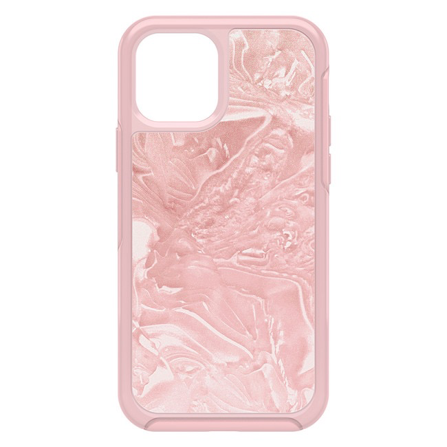 Otterbox Otterbox Symmetry Clear Protective Case for iPhone 12 / 12 Pro - Pink Interference