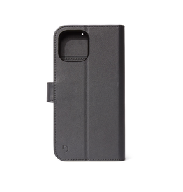 Decoded Decoded Leather Detachable Wallet Case iPhone 12 mini - Black