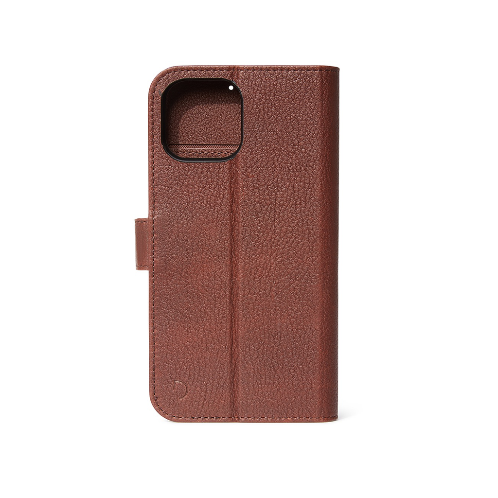 Decoded Decoded Leather Detachable Wallet Case iPhone 12 / 12 Pro - Chocolate Brown