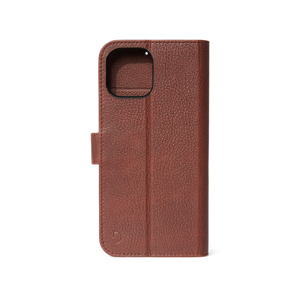 Decoded Decoded Leather Detachable Wallet Case iPhone 12 Pro Max - Brown