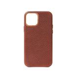 Decoded Decoded Leather Backcover Case iPhone 12 / 12 Pro - Brown