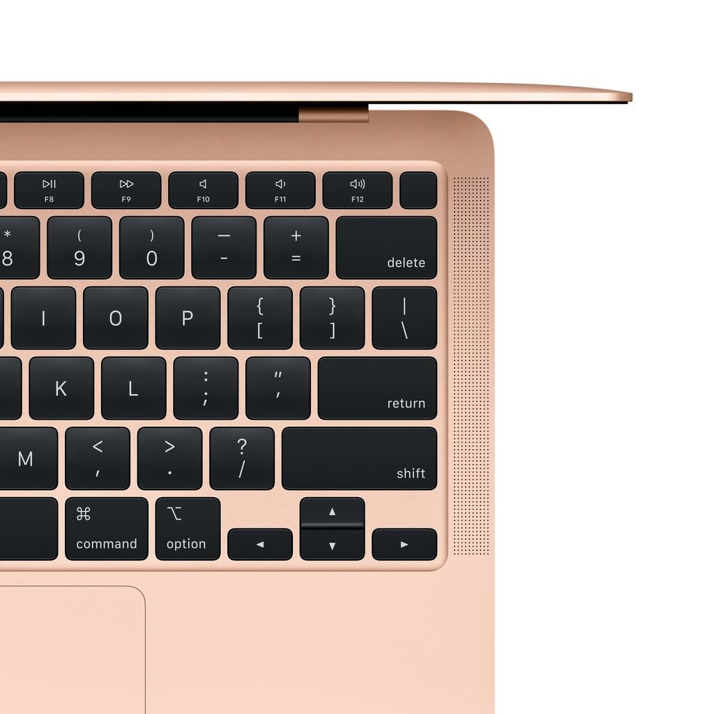 Apple NEW 13-inch MacBook Air: Apple M1 chip with 8-core CPU and 8-core GPU, 8GB unified memory, 512GB - Gold
